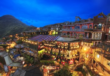 The Most Popular Taiwan Attraction:Golden Town—Jiufen