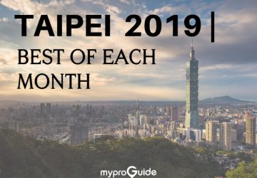 Best of Each Month in Taipei – 2019