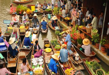 5 Floating Markets You shouldn't Miss in Bangkok
