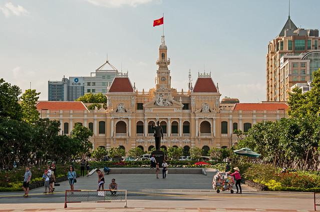 ho-chih-minh-square-saigon-vietnam