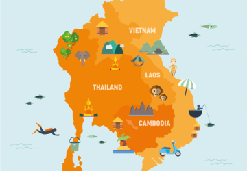 Tour Guide Licensing System Between 5 Southeast Asian Nations: Taiwan, Thailand, Cambodia, Myanmar, and Philippines