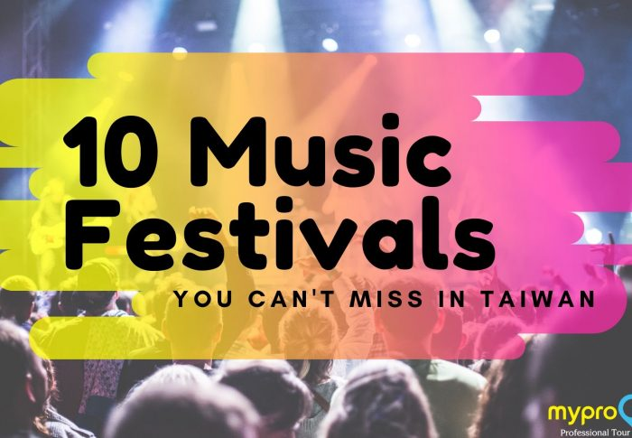 Your ultimate music festivals guide: Top 10 Music Festivals You Can't-Miss in Taiwan