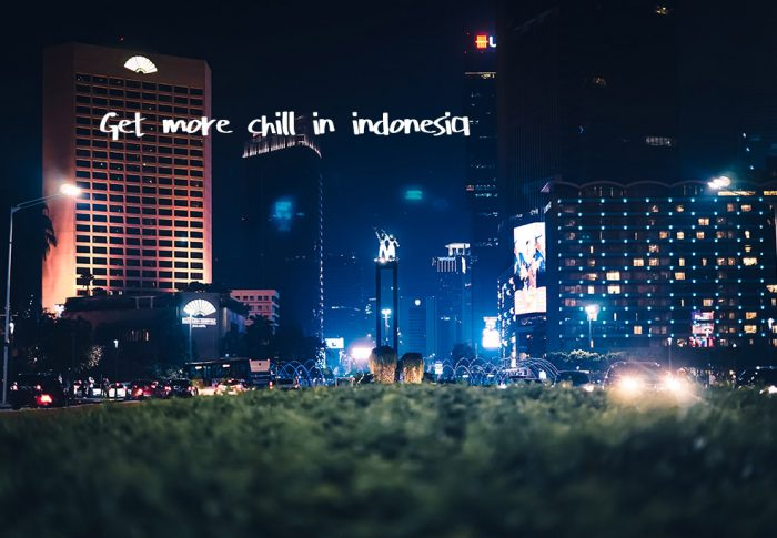 Nightlife in Indonesia can't get more chill.
