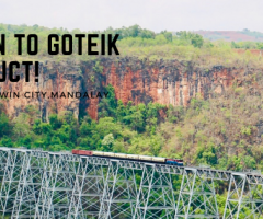 Trian to Goteik Viaduct!