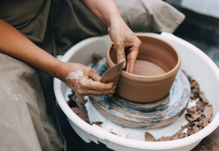 Traditional Myanmar pottery