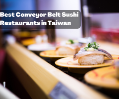 Best Conveyor Belt Sushi Restaurants in Taiwan