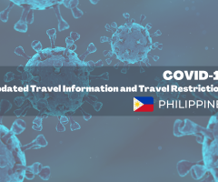 COVID-19 Updated Travel Information and Restrictions: Philippines