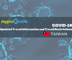 COVID Updated Travel Information and Restrictions: Taiwan