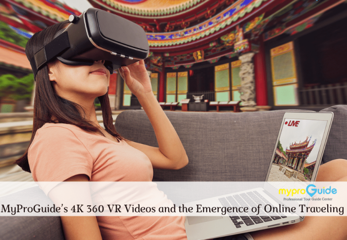 MyProGuide's 4K 360 VR Videos and the Emergence of Online Traveling