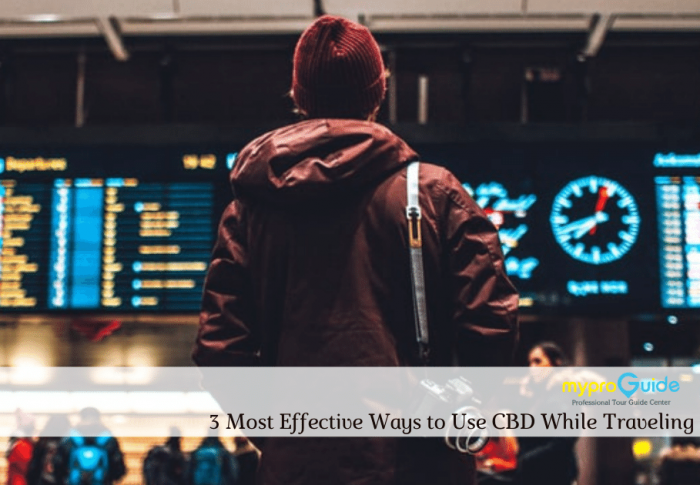 3 Most Effective Ways to Use CBD While Traveling